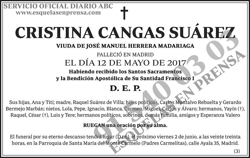 Cristina Cangas Suárez
